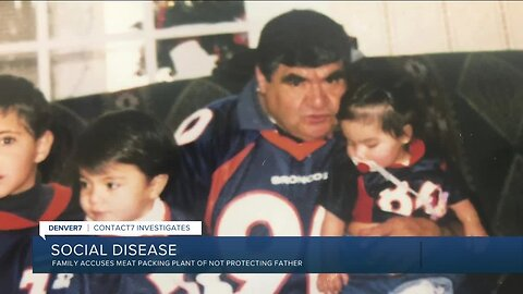 Family accuses meat packing plant of not protecting father