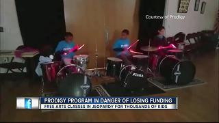 Prodigy Cultural Arts Program providing free classes to kids in danger of losing state funding - Video