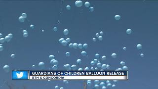 Guardians of Children Balloon Release