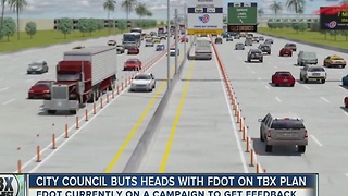City Council buts heads with FDOT on TBX plan - Video