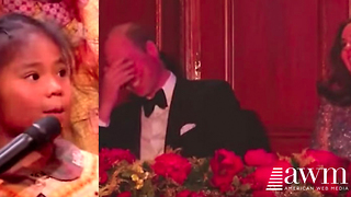 Little Girl Asks Prince William A Question, His Reaction Has Him Red As A Lobster - Video