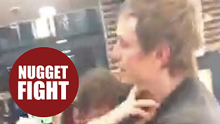 McDonald's employee headbutts customer after row over chicken nuggets - Video