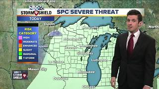Matt's Tuesday morning forecast - Video