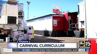 Classroom on wheels: Education for children of carnival workers - Video