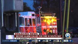 Fire extinguished in South Bay - Video