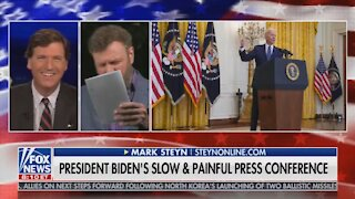 Mark Steyn's Reaction to Biden's Press Conference is PRICELESS