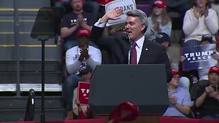 Sen. Cory Gardner speaks at Trump rally in Colorado Springs