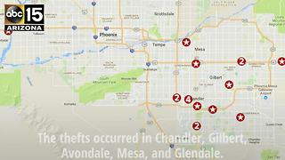 PD: Man arrested in 21 Valleywide retail thefts - ABC15Crime - Video