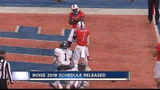 Broncos 2018 Football Schedule Announced - Video