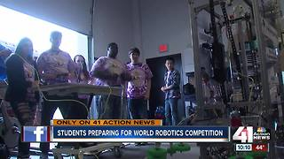 NKC robotics team headed to world competition - Video