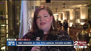 Golden Globes: NBC winners at the 75th Golden Globes - Video