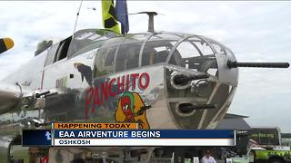 EAA Airventure begins Monday - Video