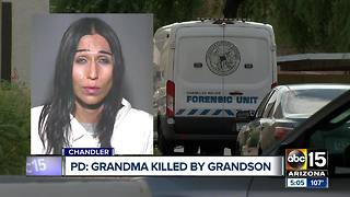 Chandler police investigating after man allegedly stabbed and killed grandmother