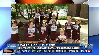 Good morning to the Carroll County Tigers! - Video