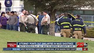 Attorney points out similarities between 2013 Taft school shooting and Parkland shooting