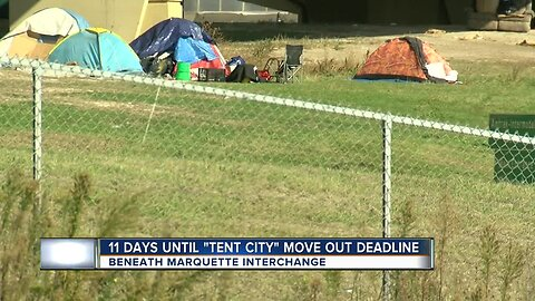 Residents of Milwaukee's 'tent city' prepare for move out deadline