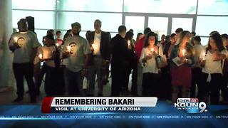 Friends, family honor Arizona alum at candlelight vigil - Video