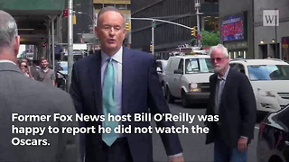 Bill O'Reilly Smokes the Oscars After Ratings Plummet - Video