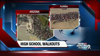 Valley students protesting gun laws plan walkout at Mesa High School - Video