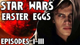 All STAR WARS Easter Eggs | Prequel Trilogy - Video