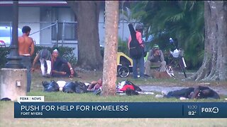 Community advocates push for help for homeless