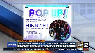 Winter pop-up organized by City State's Attorney's Office - Video