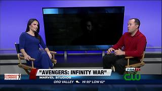 Sour finish deflates majesty of 'Avengers: Infinity War' (MOVIE REVIEW) - Video