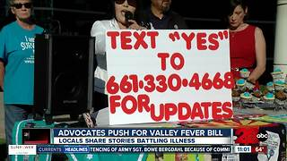 Advocates push for Valley Fever bill - Video