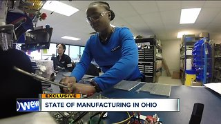 Manufacturers in Northeast Ohio report growth and open positions, but hiring remains the No. 1 challenge