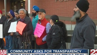 Community wants transparency from new BPD chief - Video