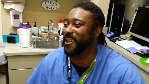 Male Nurse Has A Very Hilarious Laugh
