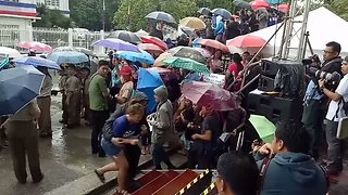 Protesters Attempt to Disrupt President Duterte's Independence Day Speech