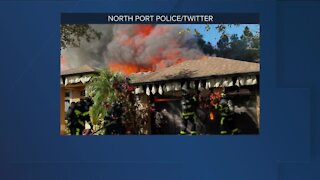 North Port house fire
