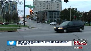 Developers worry historic tax credit will be cut - Video