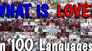 100 People Explain Meaning of Love in 100 Different Languages - Video
