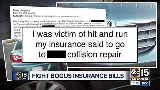 Car owners fight bogus insurance bills - Video
