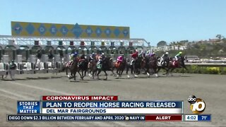 Plan to reopen horse racing released
