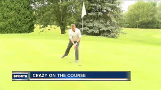 Golfers speed up their game for a good cause - Video