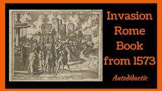 Invasion Rome Book from 1573