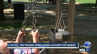 New program offers savings accounts for disabled Coloradans - Video