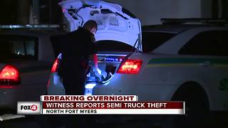 Deputies investigating attempted truck theft in North Fort Myers