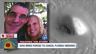 Hurricane Irma forces Northeast Ohio couple to cancel Florida beach wedding - Video