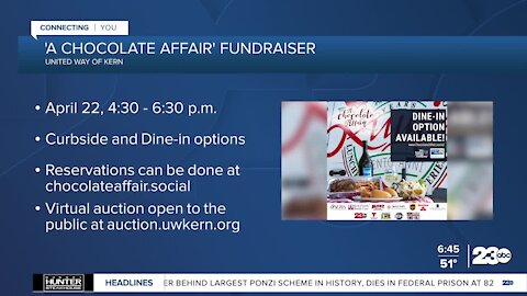 A Chocolate Affair fundraiser to benefit United Way