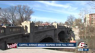 Capitol Avenue bridge reopens to traffic following construction - Video