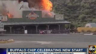 One year since Buffalo Chip Saloon burned down on Thanksgiving Day - Video