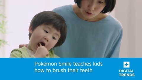 Pokémon Smile teaches kids how to brush their teeth