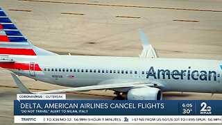 Delta, American Airlines cancel flights