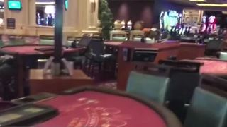 Las Vegas hotels eerily empty day after mass shooting - Video