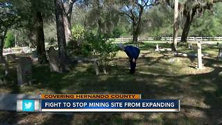 Fight to stop mining site from expanding in Brooksville - Video