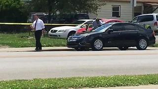 Man shot in the chest on Indy's west side - Video